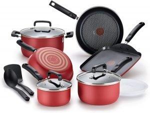 T-fal Signature Advancend Non Stick 12-Piece Cookware Set